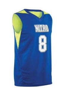 Turnaround Reversible Youth Basketball Jersey by Teamwork Athletic Style Number 141C