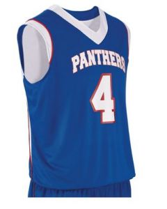 Finger Roll Reversible Youth Basketball Jersey by Teamwork Athletic Style Number 141A