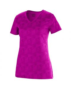 Girls Elevate Performance Wicking V-Neck T-Shirt by Augusta Sportswear Style Number 1793