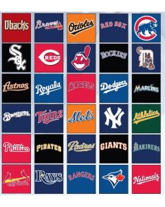 Youth MLB? Crewneck Baseball Jersey by Majestic Athletics Style Number 1928