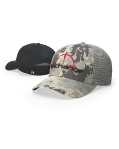 855 Digital Camo AirMesh Trucker Mesh Hat R-Flex by Richardson Cap