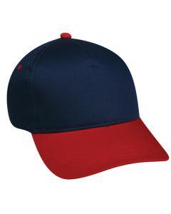 Cotton Twill Plastic Snap Adjustable Hat by OC Sports GL-455