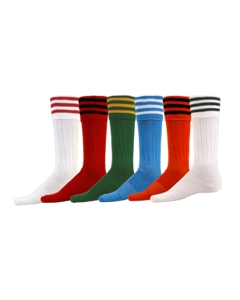 3-Stripe Striker Sock Large by Red Lion Sports Style Number 7580