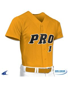 Pro Mesh Full Button Baseball Jersey by Champro Sports Style Number: BS1
