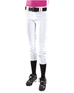 Girl's 14 oz. Low Rise Pro Weight Softball Pants by Teamwork Athletic Style Number 3262