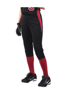 Girl's Changeup Softball Pants by Teamwork Athletic Style Number 3289