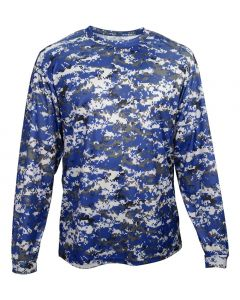 Digital Camo Performance  B-Core Long Sleeve Tee by Badger Sports Style Number: 4184