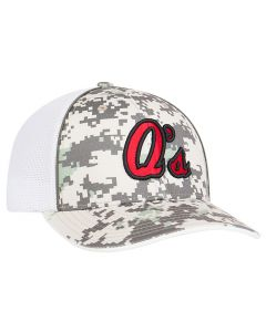 408M Digital Camo Trucker Mesh Hat with 3D Custom Embroidery Universal Fit  by Pacific Headwear FREE 7a03934de20
