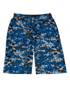 Digital Camo Performance Short with Pockets by Badger Sports Style Number 4187