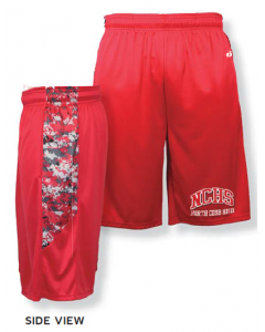Digital camo Panel Short by Badger Sports Style Number 4189