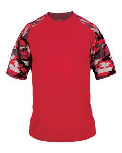 Camo Sport Performance Shirt by Badger Sport Style Number 4141