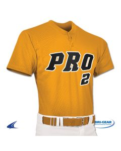 Pro Mesh 2-Button Baseball Jersey by Champro Sports Style Number: BS2