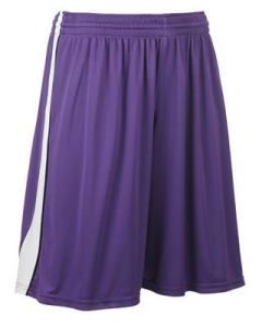 Triple Double Reversible 11 Inch Inseam Basketball Short by Teamwork Athletic Style Number 4448