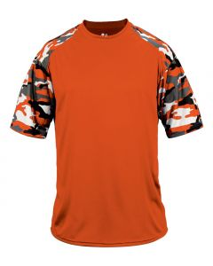 Youth Camo Sport Performance Shirt by Badger Sport Style Number 2141