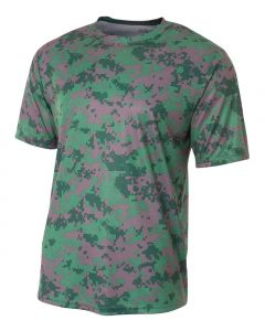 Camo Performance Tee by Sportswear A4 N3256