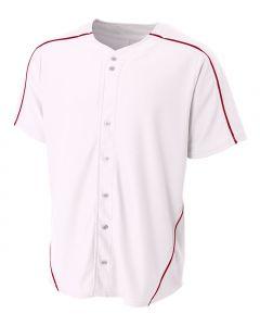 Warp Knit Baseball jersey by A4 Sportswear N4214