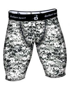 Digital Camo Compression Shorts by Badger Sport 4608