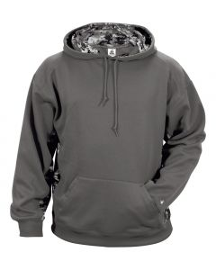 Youth Digital Camo Hood Sweatshirt by Badger Sporting Style Number 2464