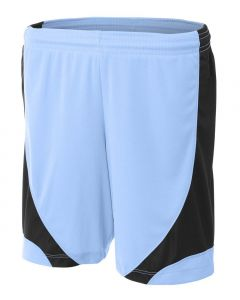 Girl's Color Block Short by A4 Sportswear NG5308