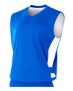 Youth Reversible Speedway Muscle Basketball Jersey by A4 Sportswear NB2349