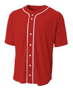 Full Button Baseball Jersey by A4 Sportswear N4184