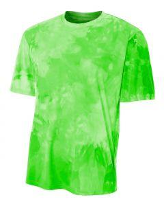 Youth Cloud Dye Tech Shirt by A4 Sportswear NB3295