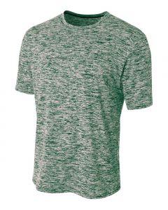 Space Dye Tech Shirt by A4 Sportswear N3296