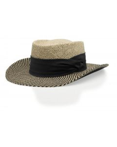 826 Two Color Gambler Straw Hat by Richardson Caps