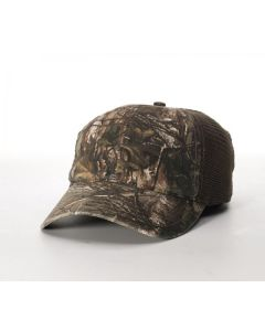 841 Camo Trucker Mesh Snapback Adjustable Hat by Richardson Cap