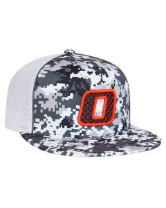 95331822f7307 8D8 Digital Camo Trucker Mesh Hat with 3D Custom Embroidery Universal Fit  by Pacific Headwear FREE