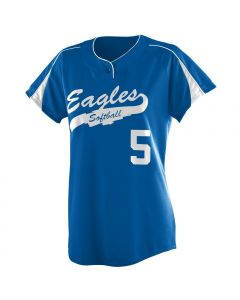 Ladies Diamond Softball Jersey by Augusta Sportswear Style Number 1225