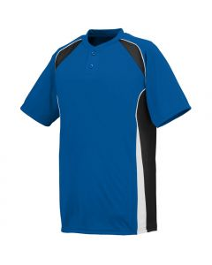 Base Hit 2-Button Baseball Jersey by Augusta Sportswear Style Number 1540