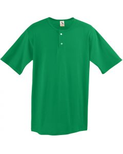 Youth 2-Button Baseball Jersey by Augusta Sportswear Style Number 581