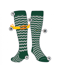 #1 in Custom Socks by TCK
