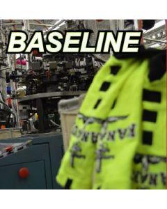 Custom Baseline 3.0  Sock by TCK   Style Number: LBBPC3