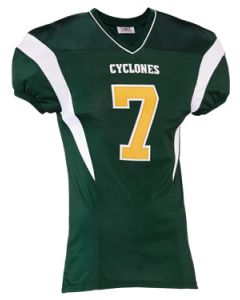 Youth Double Coverage Game Football Jersey by Teamwork Athletic Style Number: 1384