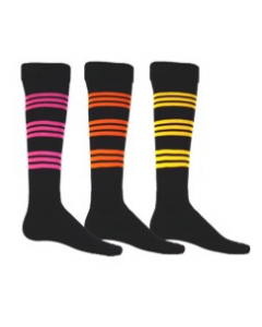 Fluorescent Warrior Sock by Red Lion Sports Style Number 7619, 7620