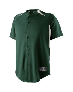 Youth Full Button Octane Performance Shirt by Holloway Style Number 221200