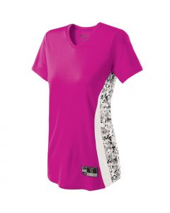 Ladies' Digital Camo Performance Change-Up Jersey by Holloway Style Number 221317