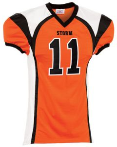 Youth Red Zone Steelmesh Football Jersey by Teamwork Athletic | Style Number: 1365