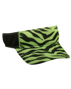 Ladies Print Adjustable Visor By OC Sports FPV-100
