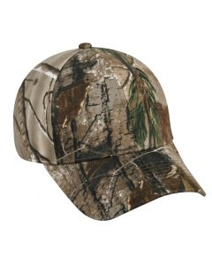 Camo Brushed Cotton/Spandex ProFlex Hat by OC Sports PFX-115