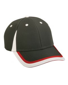 Polyester Hook/Loop Adjustable Hat by OC Sports SL-250