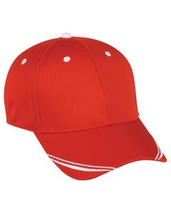 ProTech Mesh Performance Hook/Loop Adjustable Hat by OC Sports MWS-350