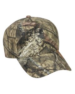Camo Cotton Twill Adjustable Hat by OC Sports 350