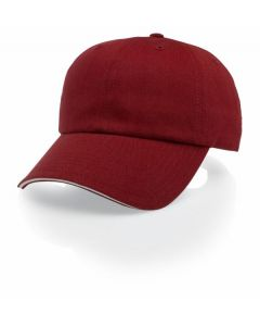 R66 Sandwich Visor Cotton Twill Adjustable Hat by Richardson Caps
