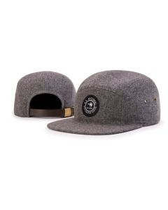 918 5 Panel Melton Wool Strapback Adjustable Hat by Richardson Cap