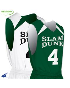 Youth Slam Dunk Reversible Basketball Jersey by Champro Sports Style Number BBJ4Y