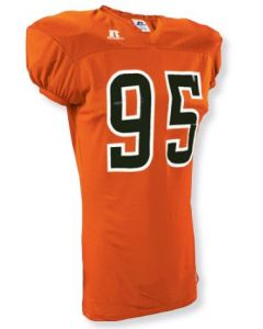 Solid Mesh Football Jersey by Russell Athletics | Style Number: S9593MK