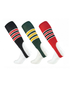 Striped Baseball Stirrups by TCK